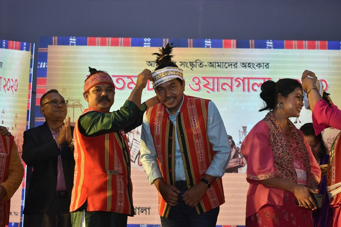 নব নির্বাচিত নকমা হেমন্ত হেনরি কুবি ও নক মিচিক