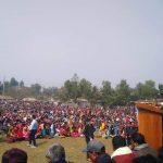 মধুপুরের জলছত্রে উচ্ছেদ ষড়যন্ত্রের বিরুদ্ধে আদিবাসীদের বিশাল সমাবেশ ও অবরোধ কর্মসূচি পালিত